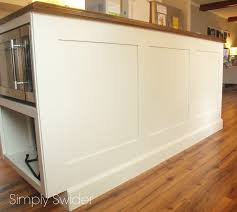 Kitchen Island Back Panel Island Back Panel Treatments Traditional