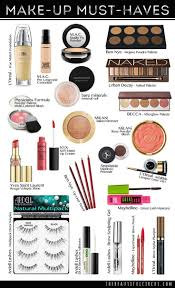 so happy to share with you my make up must haves when i find something that works for me i stick with it but if someone recommends me so