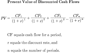 online cash flow calculator discounted cash flow analysis study com