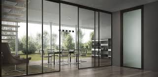 impressive office cubicle sliding doors sliding partition glazed for office cabinets sliding doors