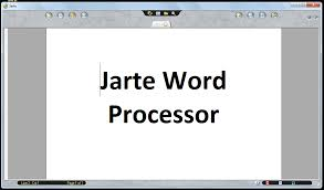 Windows Jarte Is A Fast Portable And Free Word Processor That