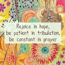 Image result for be patient in tribulation
