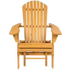 outdoor wooden chairs with arms. Beautiful Wooden Best Choice Products Outdoor Wood Adirondack Chair Foldable W Pull Out  Ottoman Patio Deck Furniture  Walmartcom Inside Wooden Chairs With Arms O