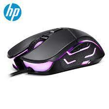 HP G260 RGB led ışık kablolu oyun fare profesyonel makro ergonomik 5500 DPI  PC faresi bilgisayar dizüstü sessiz Mause fareler|Mice