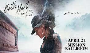 Mission Ballroom Denver Co Seating Chart Beth Hart War In My Mind Tickets In Denver At Mission