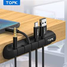 <b>Baseus</b> Universal Desktop <b>Cable</b> Clip Sticky Organizer <b>USB</b> ...