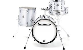 Ludwig <b>Breakbeats</b> Set <b>White</b> Sparkle – Thomann UK