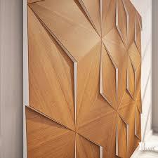 wooden pattern decorative wall panels