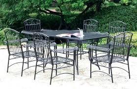 white wrought iron furniture. White Wrought Iron Patio Furniture Medium Size Of Garden Seats .
