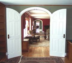 Interior doors traditional-entry
