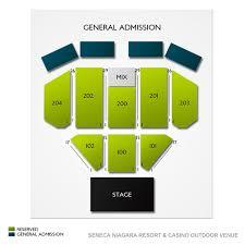 The Seneca Niagara Events Center At Seneca Niagara Casino