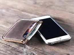 sensational front pocket slim wallets for men front pocket leather wallets