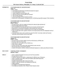 Hair Salon Receptionist Resume Sample In Duties Collection Of ...