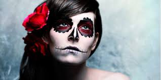 watch day of the dead makeup tutorial