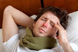 Resultado de imagen de fotos de personas enfermas de gripe
