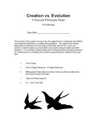 evolutionism vs creationism essay help coursework essay   evolution vs creationism essay example essays