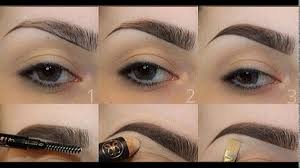 how to shape your eyebrows without makeup