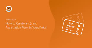 New How To Make A Wordpress Event Registration Form