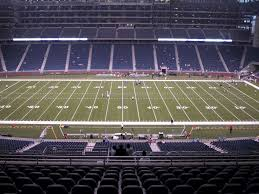 Ford Field View From Upper Level Club 331 Vivid Seats