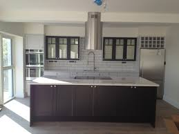 Industrial Kitchen Cabinets Industrial Kitchen White Metro Tiles Black Grout Farrow And