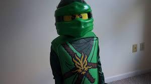 LEGO Ninjago LLoyd Deluxe Kids Costume - Halloween cosume - YouTube