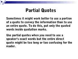 Quote Inside A Quote Quotations