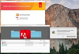 Adobe Design Standard Includes Solved Installing Cs5 On El Capitan From Downloaded Dmg