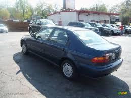 1994 Harvard Blue Pearl Honda Civic DX Sedan #63200790 Photo #5 ...