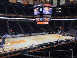 Thompson Boling Arena Section 107 Rateyourseats Com