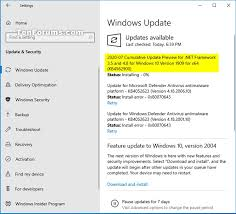 kb4562900 ulative update net