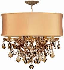 antique brass chandelier crystal