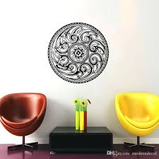 Wall Decal Quotes Adorable Mandala Wall Decal Also Mandala Wall Stickers Home Decor Living Room