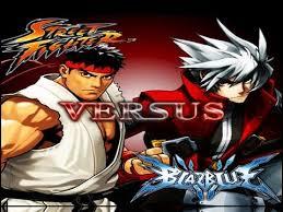 street fighter vs blazblue youtube