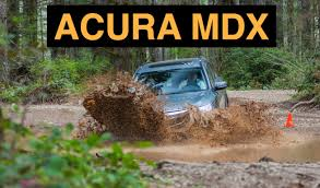 2016 Acura MDX SH AWD - Off Road And Track Review - YouTube