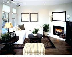decorating living room with corner