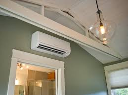 Small Air Conditioning Unit For Bedroom The Pros And Cons Of A Ductless Heating And Cooling System Hgtv