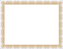 Scroll Template Microsoft Word Free Print Out Frames Traditional Scroll Style Certificate
