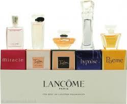 lane the best of fragrances miniatures gift set 5ml hypnose edp 5ml miracle edp 4ml poeme