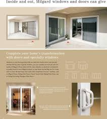 with our selection of patio doors and specialty windows like bay bow or garden windows
