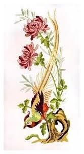 <b>Набор для вышивания Anchor</b> PE0644 Винтажные хризантемы ...