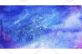 Galaxy Pattern Magnificent Watercolor Space Galaxy Background Graphic Patterns Creative Market
