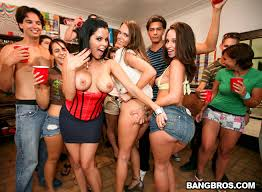 College party porn stars