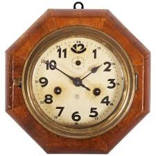art deco wall clock from junghans for