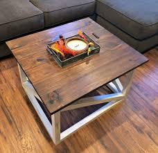 rustic furniture diy. Diy Coffee Table, Basement Ideas, Living Room Painted Furniture, Rustic Furniture