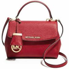 michael kors ava small saffiano leather satchel women s fashion bags wallets handbags on carou