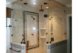 custom glass bathtub enclosures glass shower enclosure installation frameless heavy glass shower enclosures