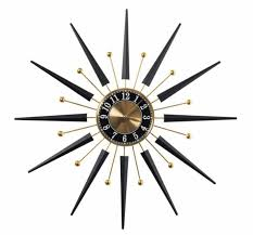 starburst wall clocks from er barrel 25 wide who da thunk it who da even thunk you could clocks from er barrel
