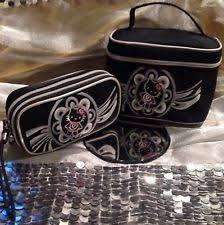 mac o kitty 2 makeup cosmetic bags rare discontinued lot collectible htf