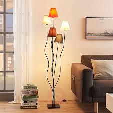 Melis Five Bulb Floor Lamp For The Living Room Lightscouk