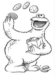 Small Picture cookie monster coloring pages to color Archives Best Coloring Page